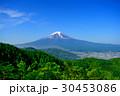 倉見山からの新緑と富士山Mt.Fuji Kurami Mountain fresh green 30453086