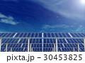 ソーラーパネル 太陽電池パネル 太陽光パネルのイラスト 30453825