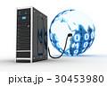 サーバー ネットワーク 通信のイラスト 30453980