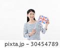 女性 国旗 イギリス 30454789