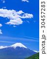 富士山 山 雲の写真 30457283