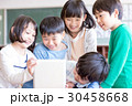 小学生 タブレット 子供の写真 30458668