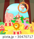 Circus concept scene, cartoon style 30470717
