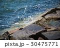 消波 海辺 波の写真 30475771
