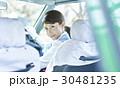 タクシー 女性ドライバー 笑顔 ポートレート 30481235