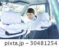 タクシー 女性ドライバー 笑顔 ポートレート 30481254