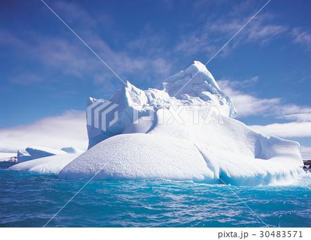 極地 南極 海の写真素材 [304835...