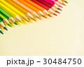 えんぴつ カーブ 曲線の写真 30484750