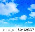 日本の空_水彩画風 30489337