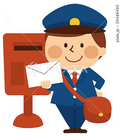郵便屋さん 30489495