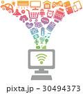 IOT インターネット ネットワークのイラスト 30494373