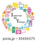 IOT インターネット ネットワークのイラスト 30494375