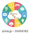IOT インターネット ネットワークのイラスト 30494382