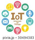 IOT インターネット ネットワークのイラスト 30494383