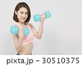 女性 人物 トレーニングの写真 30510375