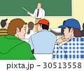 人物イラスト、授業風景 30513558