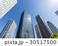 新宿高層ビル群を見上げる11 30517500