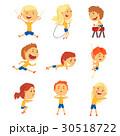 スポーツ 運動 子供のイラスト 30518722