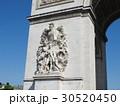 パリ:凱旋門の彫刻 30520450