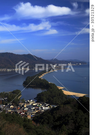11月 晴天快晴の天橋立 日本三景 30521329