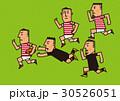 ラグビー 走る 男性のイラスト 30526051