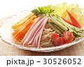 冷やし中華 冷麺 冷やしラーメンの写真 30526052