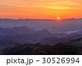 箱根連山から昇る太陽 30526994