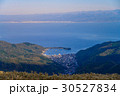 伊豆スカイラインから眺めた、海と戸田の町 30527834