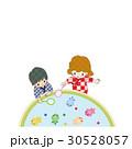 園児 甚平 夏祭り 金魚すくい 30528057