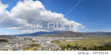 花咲山からのパノラマ風景 30530538