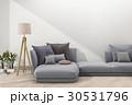 ミニマル ソファ ソファーのイラスト 30531796