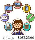 仕事 女性 ビジネスのイラスト 30532390