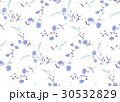 花 花柄 パターンのイラスト 30532829
