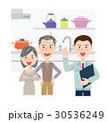 キッチン リフォーム ベクターのイラスト 30536249