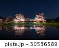 小湊鉄道 飯給駅 桜ライトアップ 30536589