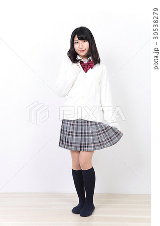 女子高生 制服 30538279