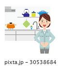 女性 作業員 リフォームのイラスト 30538684