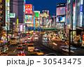《東京都》新宿の夜景 30543475