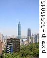 象山から見た台北101と台北市街 30545045