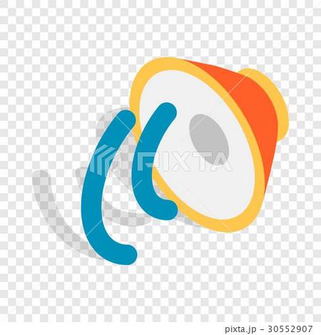Speaker isometric iconのイラスト素材 [30552907] - PIXTA