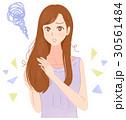 髪 痛み ヘアケアのイラスト 30561484