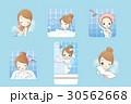 お風呂 浴室 風呂のイラスト 30562668