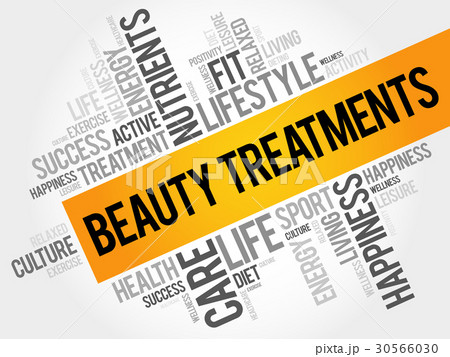 Beauty Treatments word cloud background 30566030
