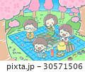 お花見 桜 春のイラスト 30571506