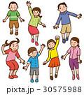 子供 ベクター ジャンプのイラスト 30575988