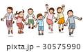 子供 ベクター ジャンプのイラスト 30575990