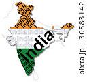 インド地図 30583142