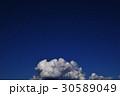 青空 入道雲 積雲 雲 コピースペース 空 自然 日本 風景 30589049