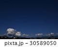 青空 入道雲 積雲 雲 コピースペース 空 自然 日本 風景 30589050