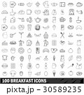 100 100 ブレックファーストのイラスト 30589235